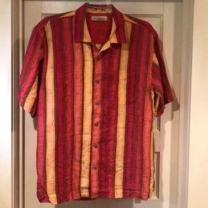 Tommy Bahama Linen Shirt L